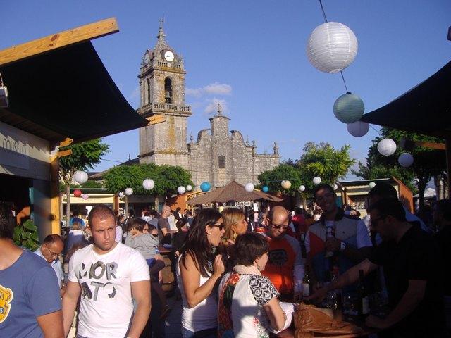 Feria del vino de O Rosal