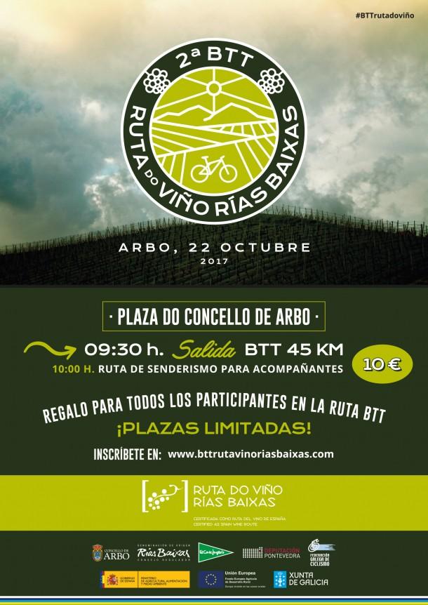 II BTT Ruta do Viño Rías Baixas