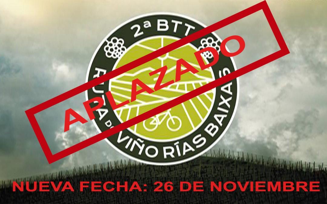 La II BTT Ruta do Viño Rías Baixas se pospone tras la ola de incendios que ha afectado a la subzona de Condado do Tea