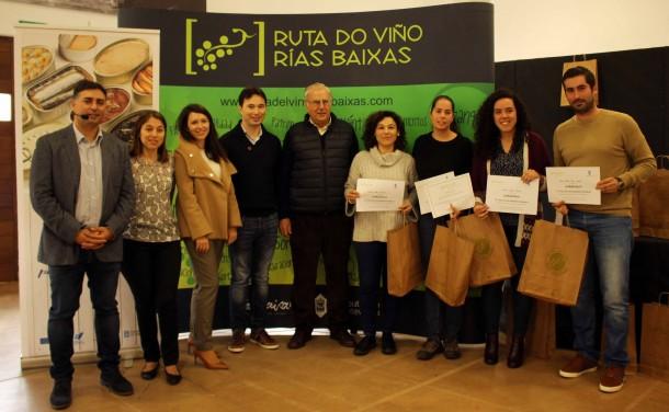 La VI Cata Amateur Ruta do Viño Rías Baixas premió a cuatro participantes