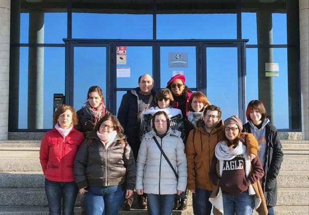 La Ruta do Viño Rías Baixas recibe a los alumnos del Curso de Promoción Turística Local e Información al Visitante