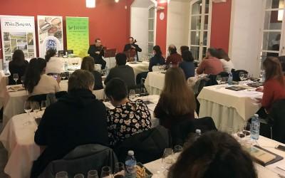Excelente acogida a la primera sesión de las Notas de Cata de la Ruta do Viño Rías Baixas