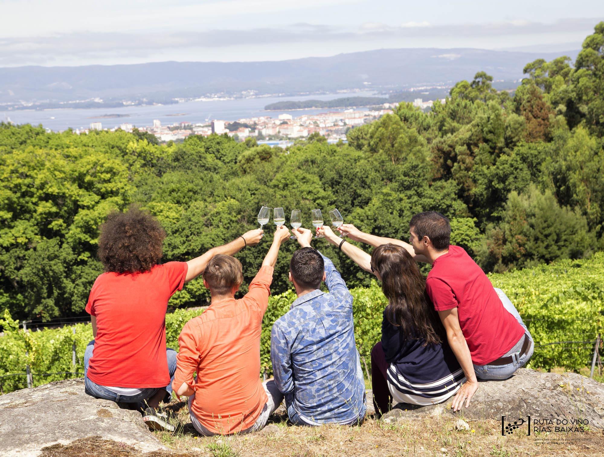 La Ruta do Viño Rías Baixas bate un nuevo récord con más de 115.000 visitantes durante 2017, un 13,3% más que en el año anterior