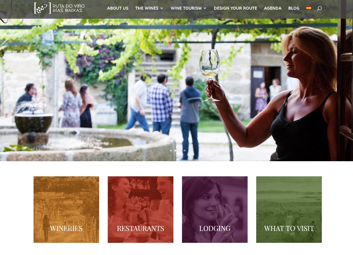 La Ruta do Viño Rías Baixas estrena web bilingüe