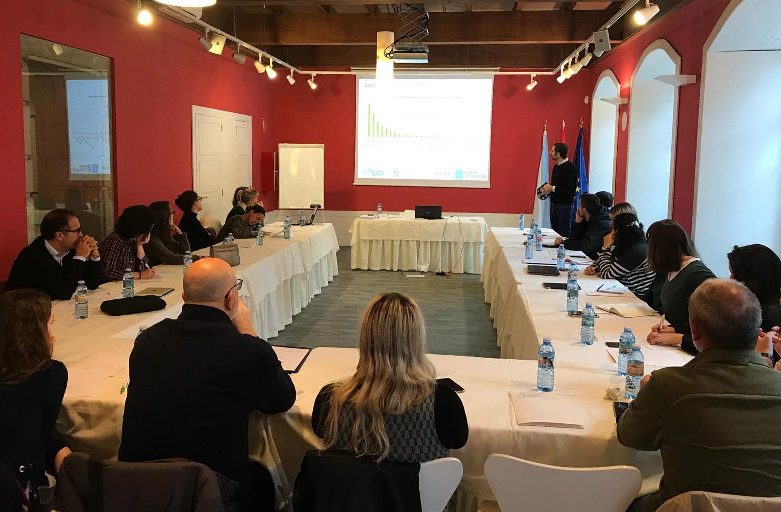 Éxito del taller de Creación y Comercialización de experiencias enoturísticas organizado por la Ruta do Viño Rías Baixas y el Clúster de Turismo de Galicia
