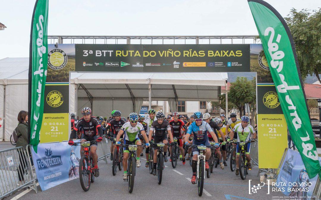 Galería de fotos de la III BTT Ruta do Viño Rías Baixas en O Rosal