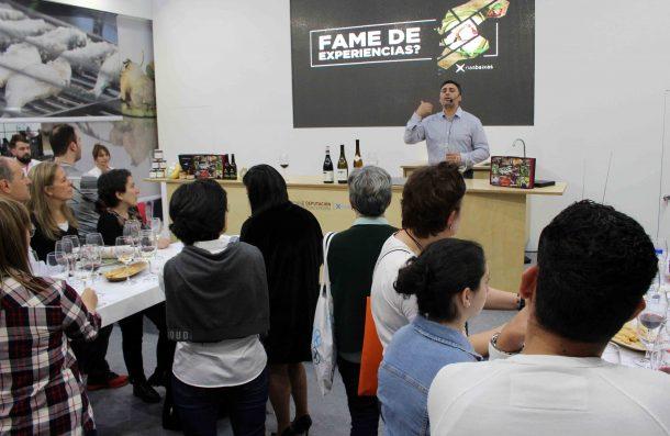 La Ruta do Viño Rías Baixas muestra en el Fórum Gastronómico de A Coruña la variedad de vinos de sus bodegas asociadas