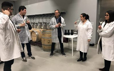 Dos prescriptores estadounidenses especializados en turismo y vino descubren la Ruta do Viño Rías Baixas
