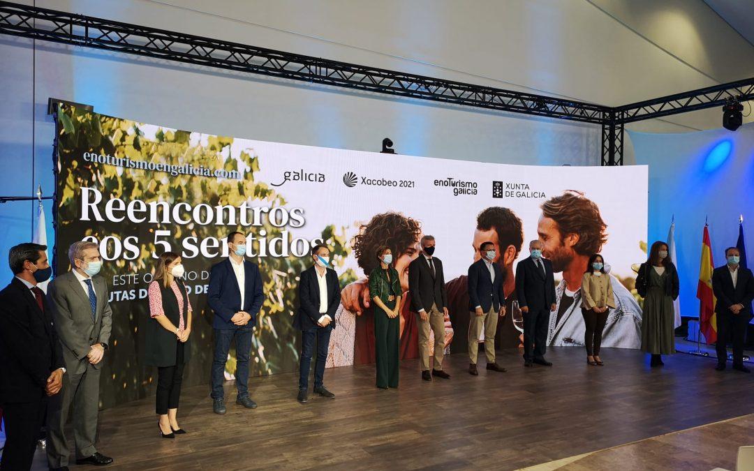 La Ruta do Viño Rías Baixas participa en la presentación de la nueva campaña promocional de Enoturismo Galicia