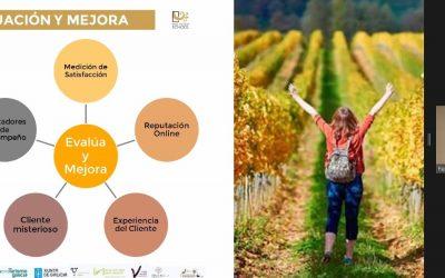 Más de 20 socios de la Ruta do Viño Rías Baixas inician el Plan de Formación y adaptación frente a la COVID-19 de Enoturismo Galicia