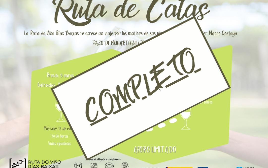 La Ruta do Viño Rías Baixas cuelga el cartel de completo para el programa 'Ruta de Catas'