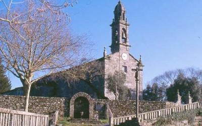 Entorno de la iglesia de Santa Eulalia de Vedra