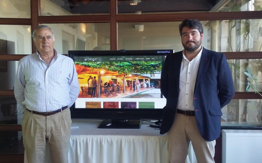 La Ruta do Viño Rías Baixas estrena una web interactiva donde el usuario podrá crear y descargar su propio itinerario enoturístico