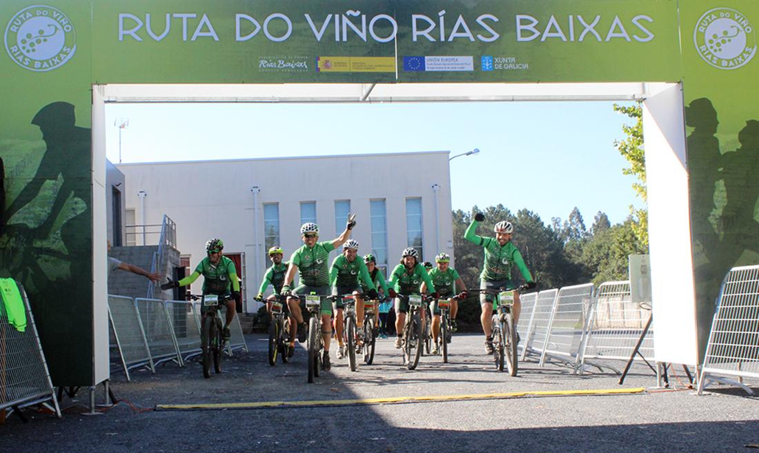 Galería fotográfica de la 1ª BTT Ruta do Viño Rías Baixas