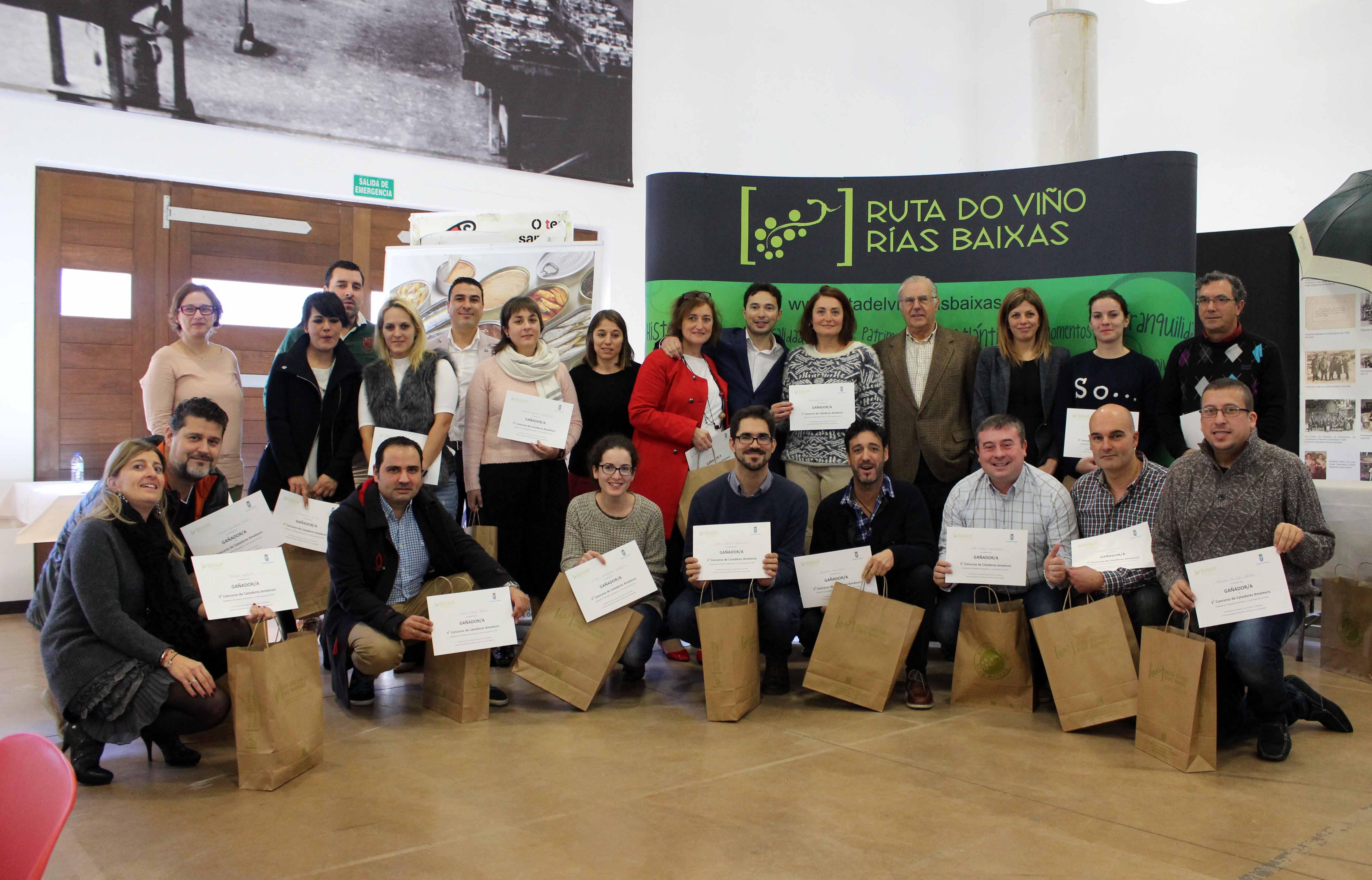 La V Cata Amateur Ruta do Viño Rías Baixas concluye con 18 vencedores