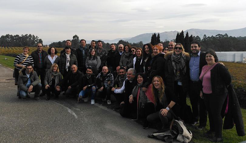 Concluye el viaje de la Ruta del Vino de Rioja Alavesa con la vista puesta en futuros proyectos de colaboración