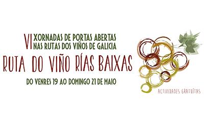 Todo listo para las VI Xornadas de Portas Abertas en la Ruta do Viño Rías Baixas que comienzan mañana con el 'Venres de Tapeo' y la magia de Pedro Volta