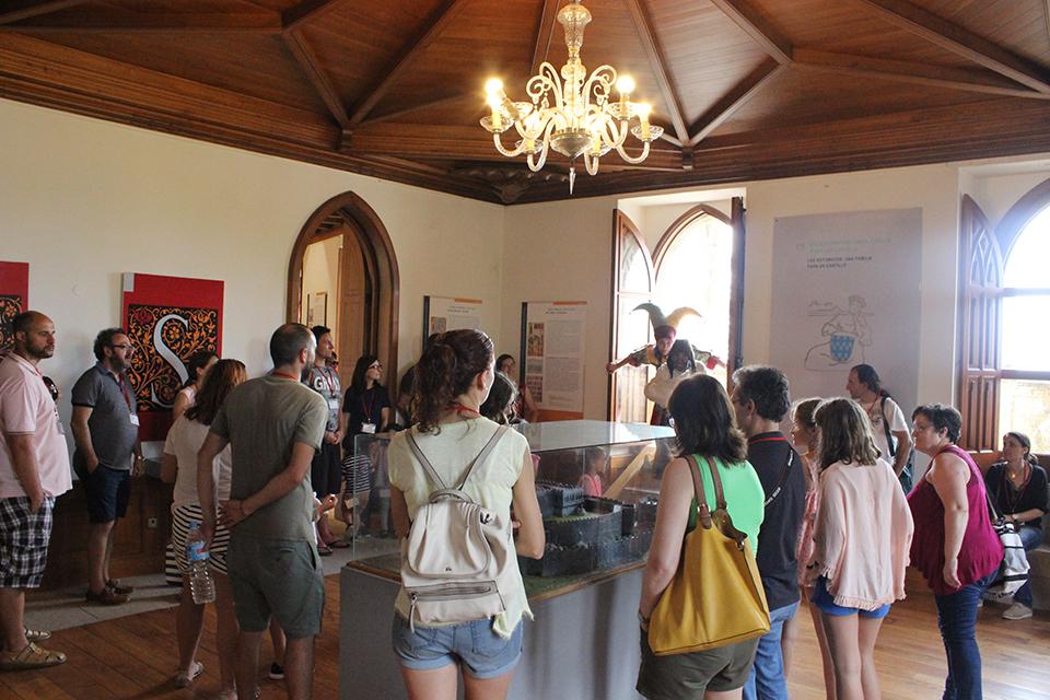 Visitas teatralizadas al Castillo de Soutomaior, un plan idóneo para toda la familia