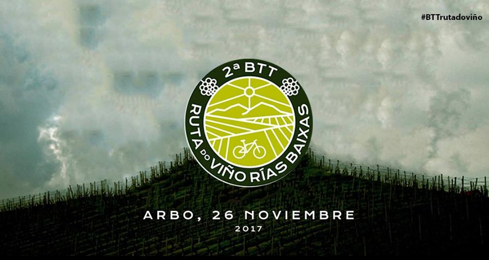 La II BTT Ruta do Viño Rías Baixas reunirá 200 ciclistas este domingo en el Condado do Tea