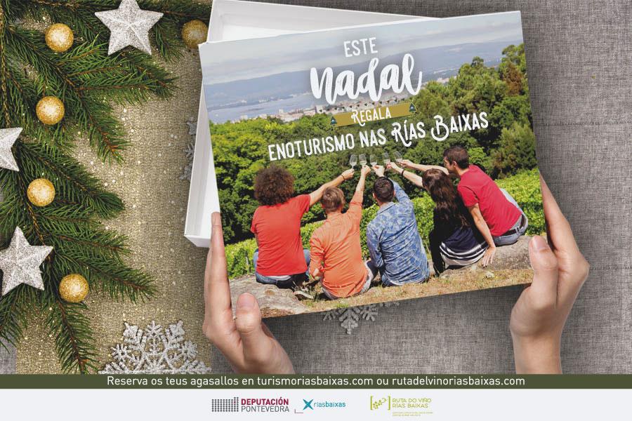 La Ruta do Viño Rías Baixas y Diputación de Pontevedra se unen para promover el enoturismo como regalo para esta Navidad