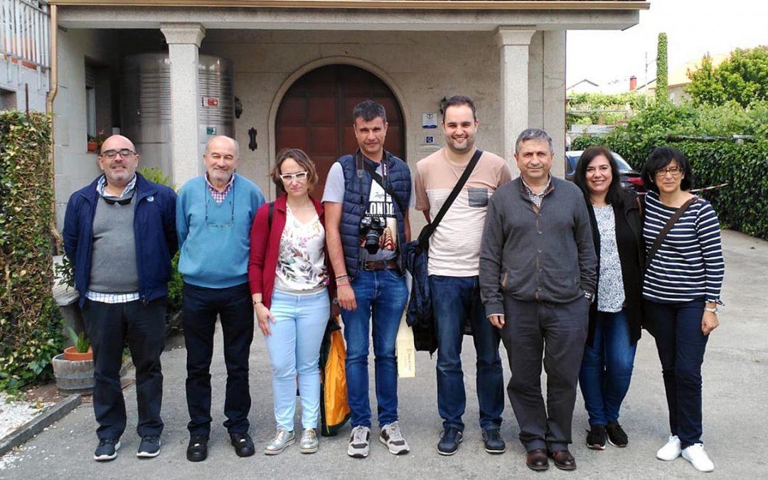 El Clúster de Turismo Rural de Asturias se interesa por la Ruta do Viño Rías Baixas