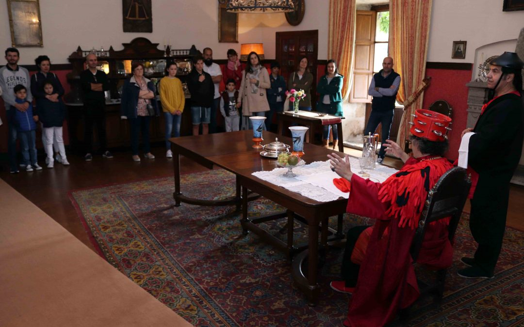 Excelente acogida a las visitas teatralizadas de la Ruta do Viño Rías Baixas dentro de sus VIII Jornadas de Puertas Abiertas
