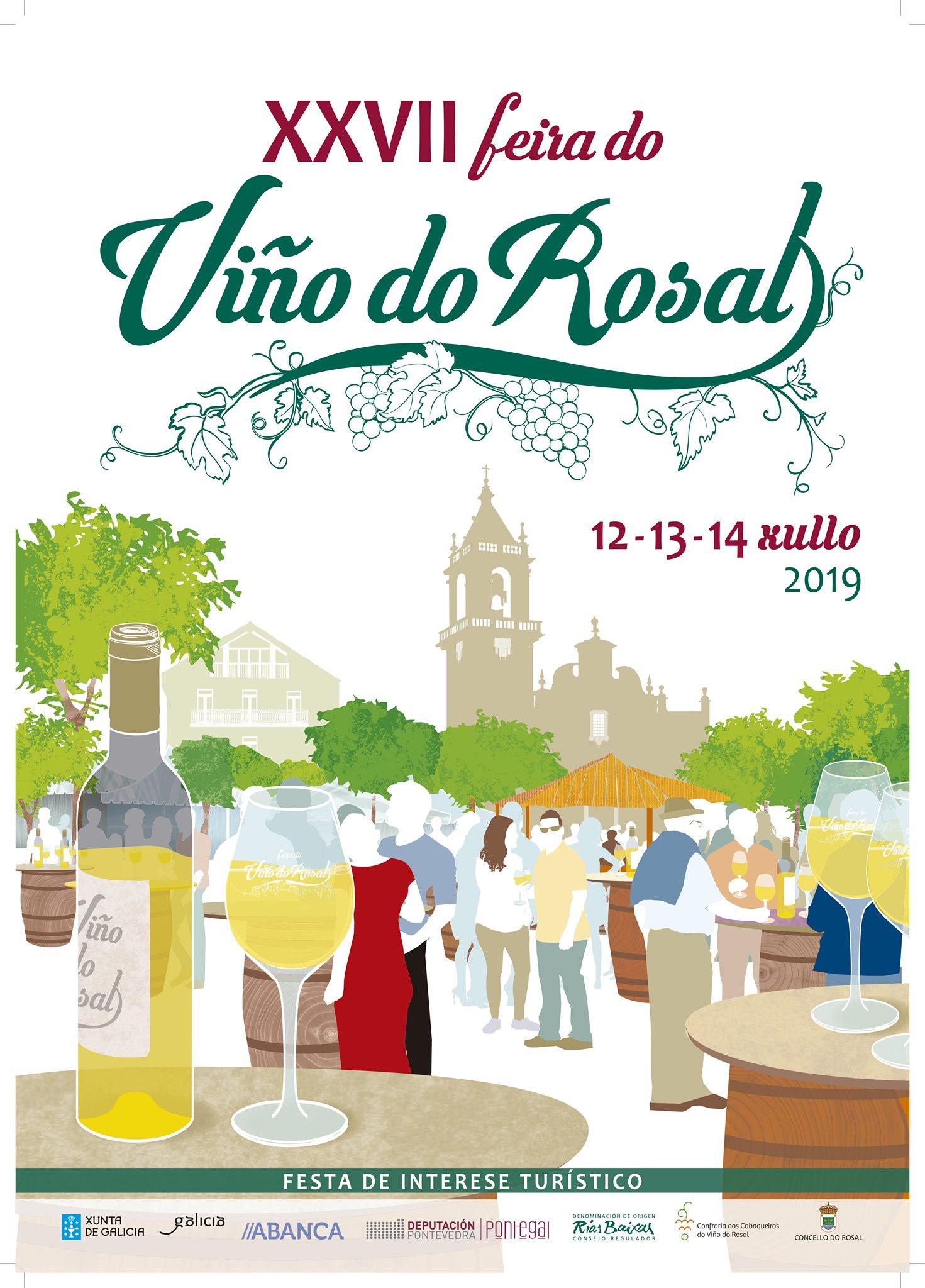 La Ruta do Viño Rías Baixas se incorpora a la Confraría do Viño do Rosal