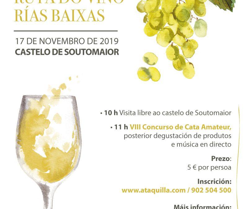 La VIII Cata  Amateur Ruta del Viño Rías Baixas mostrará este domingo en Soutomaior los matices de cerca de 30 referencias de 16 bodegas asociadas