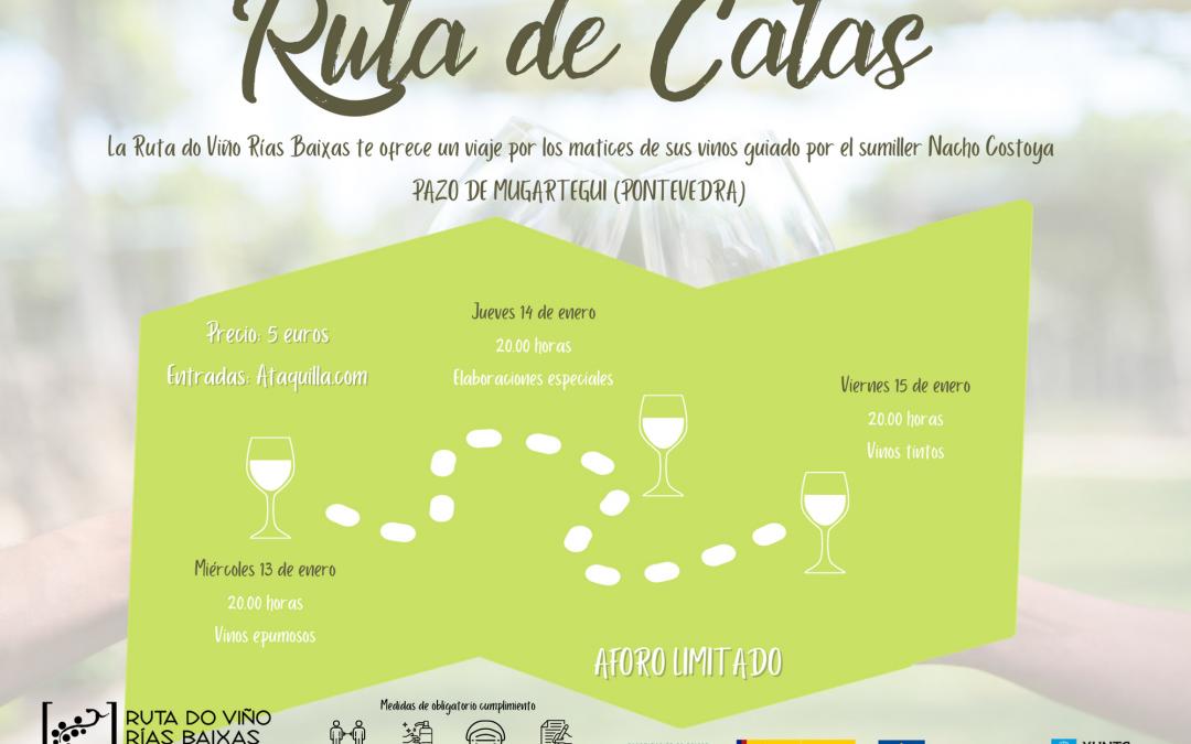 La Ruta do Viño Rías Baixas organiza el programa 'Ruta de Catas', que se celebrará la próxima semana en el Pazo de Mugartegui