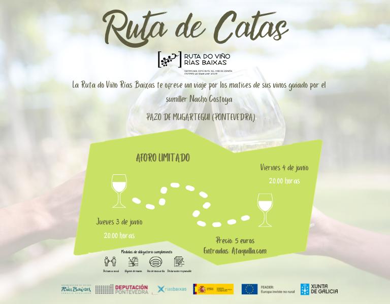 La Ruta do Viño Rías Baixas retoma su programa 'Ruta de Catas' con dos nuevas sesiones en el Pazo de Mugartegui