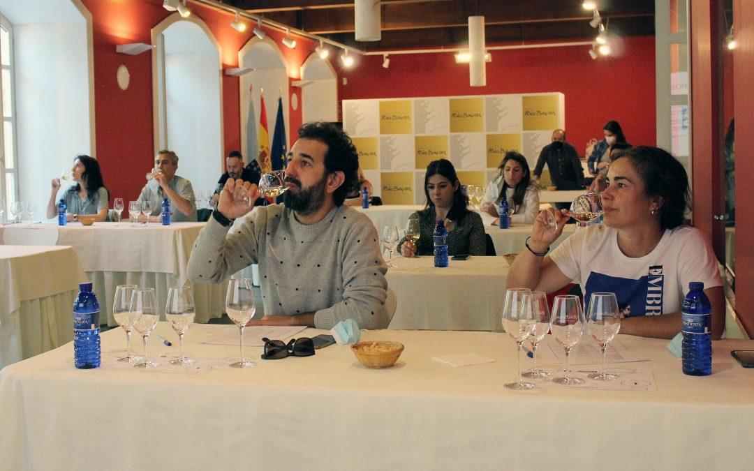 Éxito de las dos sesiones de la Ruta de Catas de la Ruta do Viño Rías Baixas