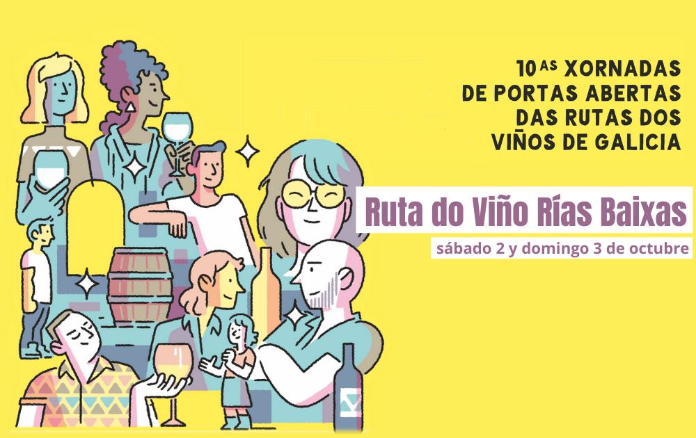 La Ruta do Viño Rías Baixas  agota las entradas de sus 14 Buses do Viño para las X Jornadas de Puertas Abiertas